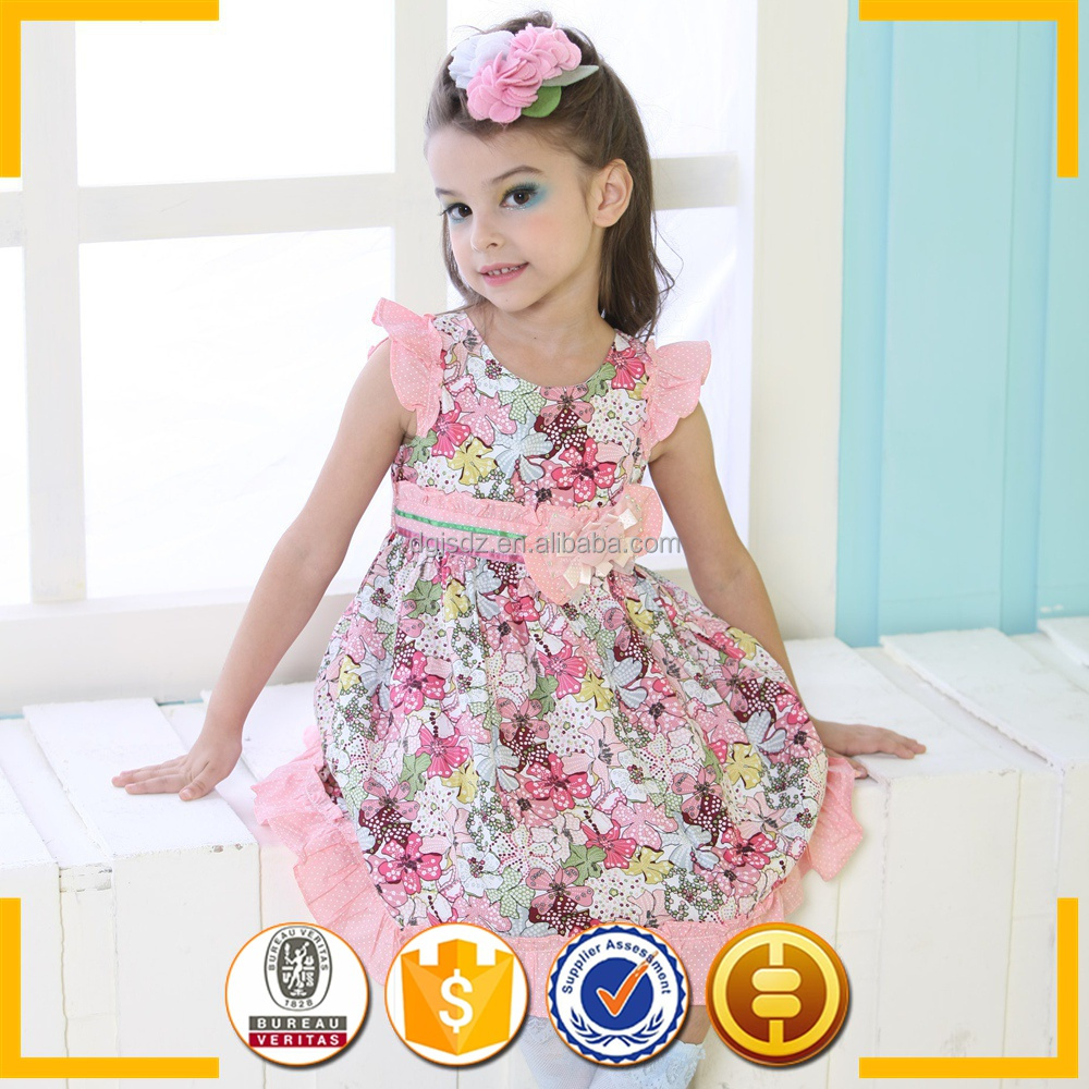Fashion kids party wear girl dress / Different short dress styles / Girls frock designs for party