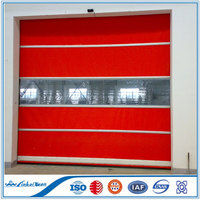 Electric fast PVC Roller high speed door with good quality