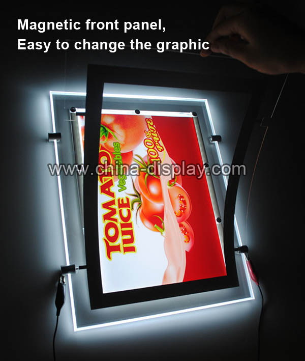 Led poster board lights