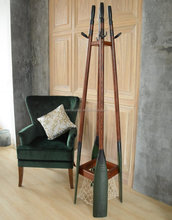 Rustic Furniture Oar Hall Tree