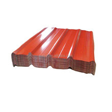 color steel glazed types of roof tiles