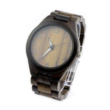 2018 Custom Logo ECO Friendly English Top American Watch Brands Full Wood Classic Mens Watch