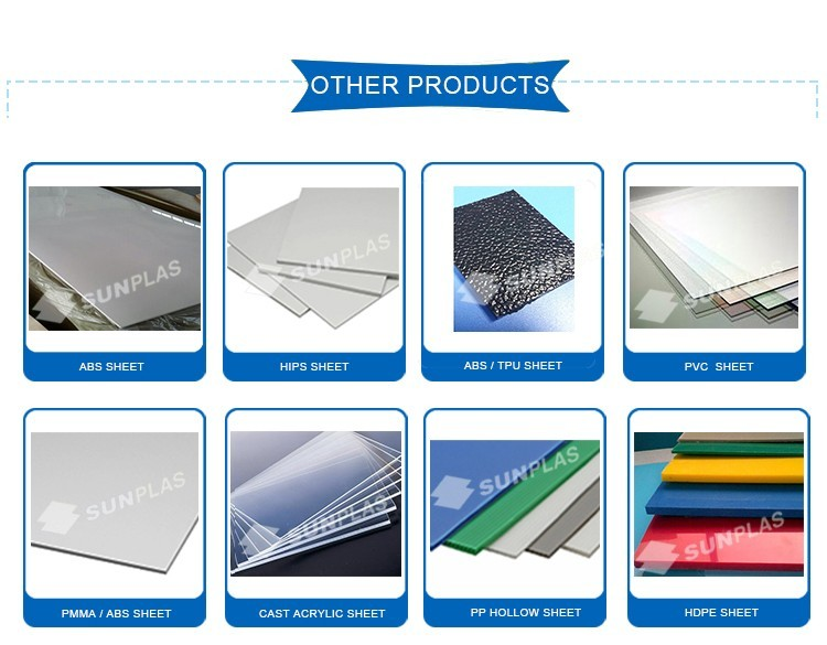 ABS/TPU sheet material for travel luggage
