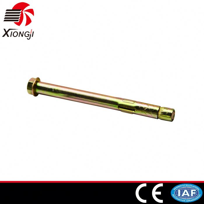 Manufacturer Selling Carbon Steel Yellow Zinc Plated Wedge Bolt Anchor Washer