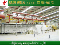 the latest technology plasterboard production plant
