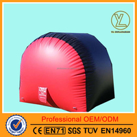 High quality cheap inflatable paintball air bunker for sport games