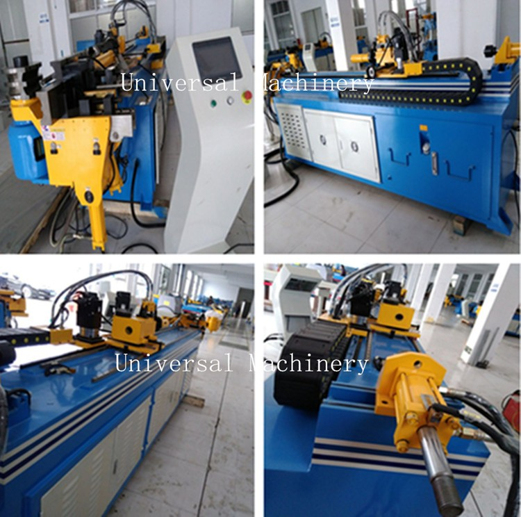 Factory price CNC Pipe Bending Machine with 360 degree Rotation function
