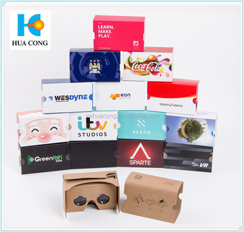 2017 new product low price price wholesale google cardboard