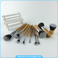 2017 trending products private label cosmetics makeup brush set