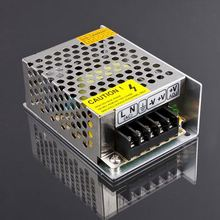 New DC 24W 12V 2A Switch Power Supply Driver 4 LED Strip Light Display AC Switch Mode Power Supply