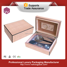 High Quality wooden cigar humidor box for wholesale