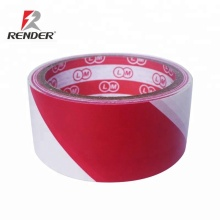 45mm*13m*0.15mm red and white caution tape underground cable warning tape