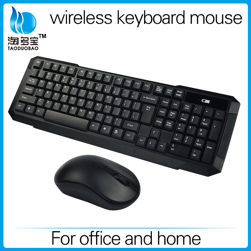 Wholesale Original Wireless Optical Keyboard Mouse For Computer