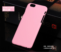 New Available Plain Hard Plastic Rubber Matt Back Case Cover for iPhone 6 6 Plus