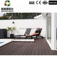 Swimming pool tile recycled material wpc decking / Wood plastic composite flooring / best selling in spain wpc decking floor