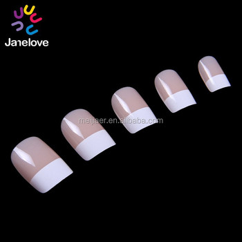 2015 nail art tips french artificial nails curved nail tips ivory color