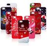 colorful Christmas PC phone case for christmas gift, custom phone case for Iphone 6
