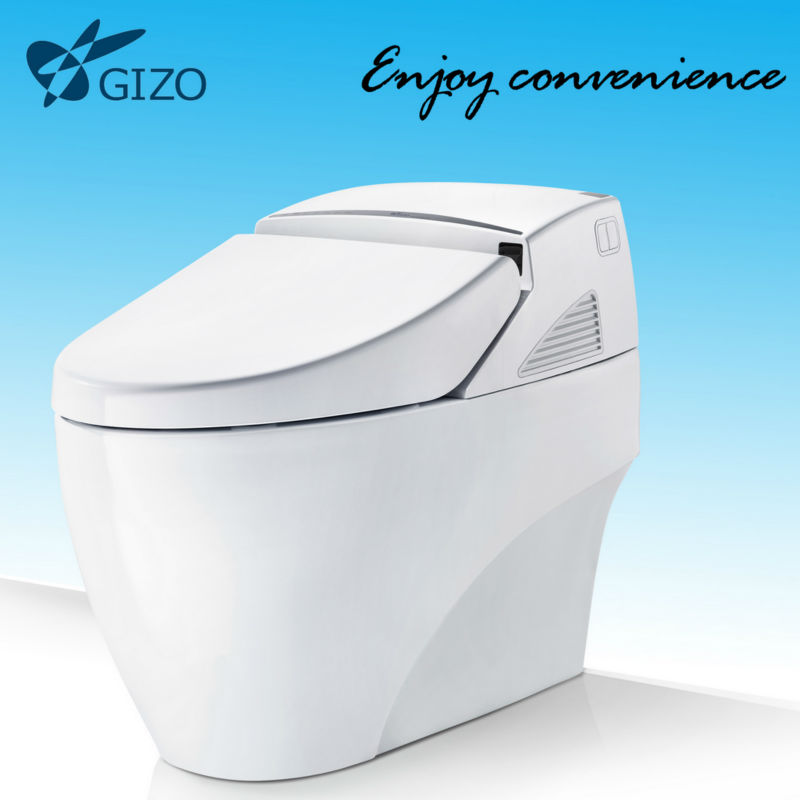Auto Open Auto Flush Saving Water Intelligent Toilet Bowl