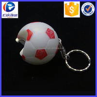 Promotion Gifts Led Football Bottle Opener Keyring