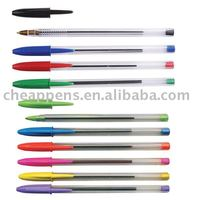 simple stick cheap office use plastic ballpen