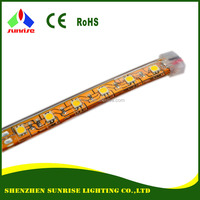 Yellow PCB IP68 5050 24V LED strip light
