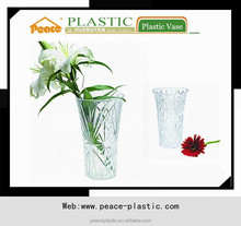 2014 Plastic Vase,crystal vase,flower pot for sale