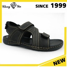 Latest Design Black Leather Sole Bedroom custom China wholesale Sandals Shoes