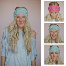 2014 New Fashion Lady Stunning Charm Acrylic Knitted Head Band