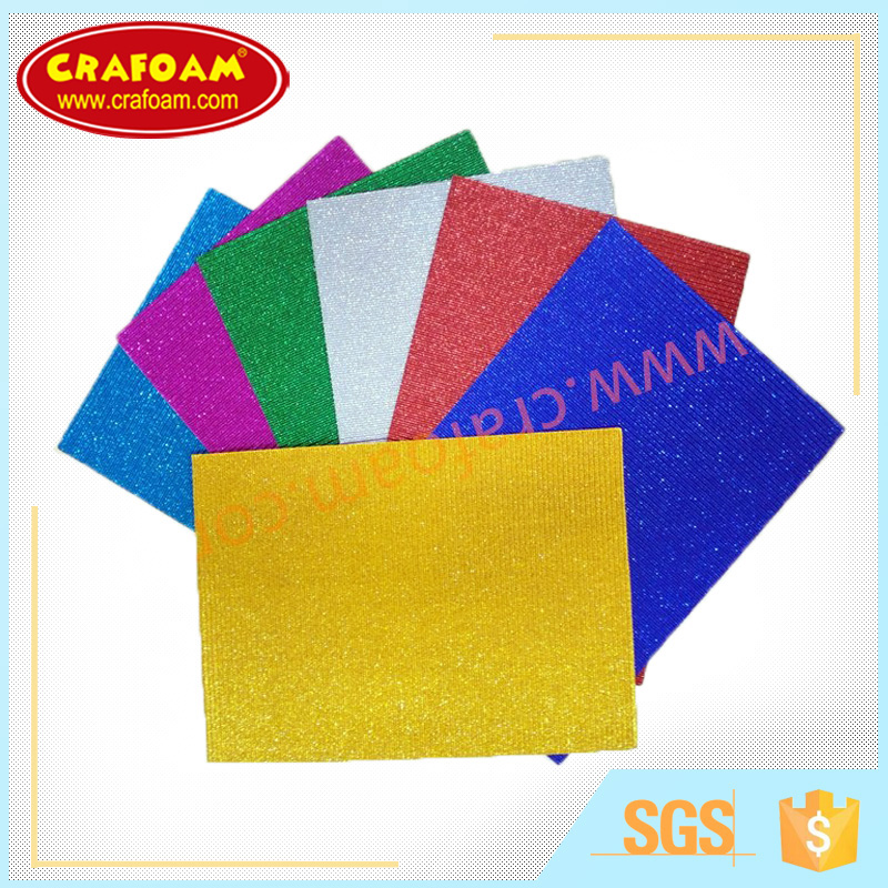Top paper Shinning corrugated paper super glitter corrugated paper sheets for arts and crafting