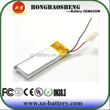 High Quality Hearing Aid Battery 5530158 3.7V 2300mAh