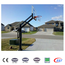 Best height adjustable basketball backstop inground basketball hoops