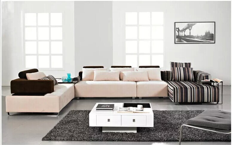 Newest modern u shaped sectional sofa