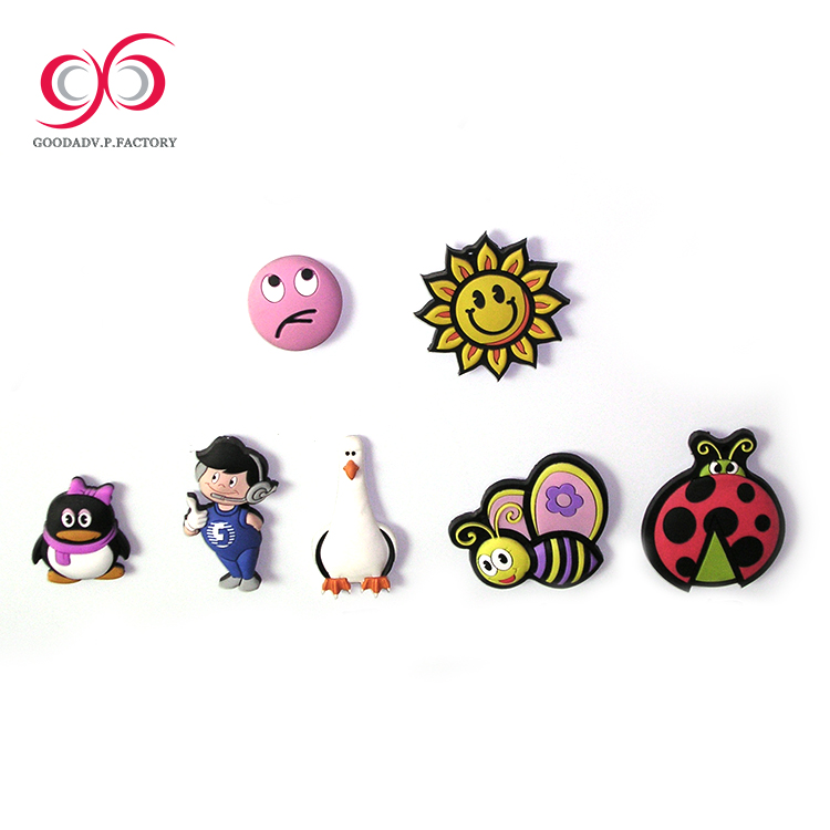 Gift set promotional soft pvc custom 3d fridge magnet