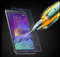2014 Newest tempered glass screen protector For Samsung Galaxy Note 4 Note 3