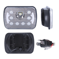 5x7'' halo square led headlight, 5x7 inch led sealed beam headlight