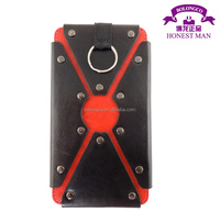 luxury rivet smart cover case for samsung galaxy s5 from Guangzhou manufacturer