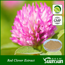 organic chinese 100% natural herb red clover extract powder