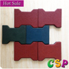 Outdoor cheap thick dog bone rubber floor pavers