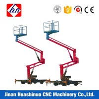Various Model Boom Lifting Crane And Trailer Mounted With Low Price