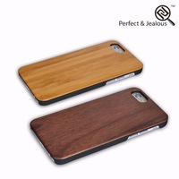 Hot sale Real wood cartoon character cell phone case