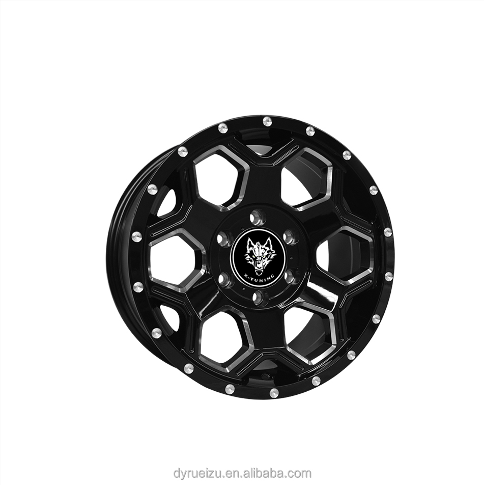 17 inch 18 inch 20 inch Chinese alloy auto wheels rims hub of Rueizu wheel