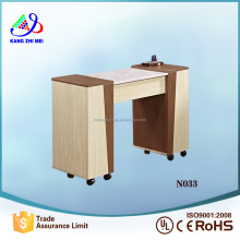 new beauty salon furniture beauty table manicure table nail station for sale (N033)