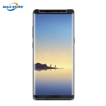 2018 New Products 3D Full coverage Tempered Glass For Samsung S9 case friendly screen protector s9 Plus