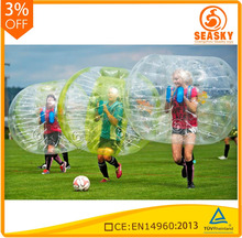 Most popular sport 2016 bumper ball, sinflatable bubble ball for kids,inflatable bubble ball water ball