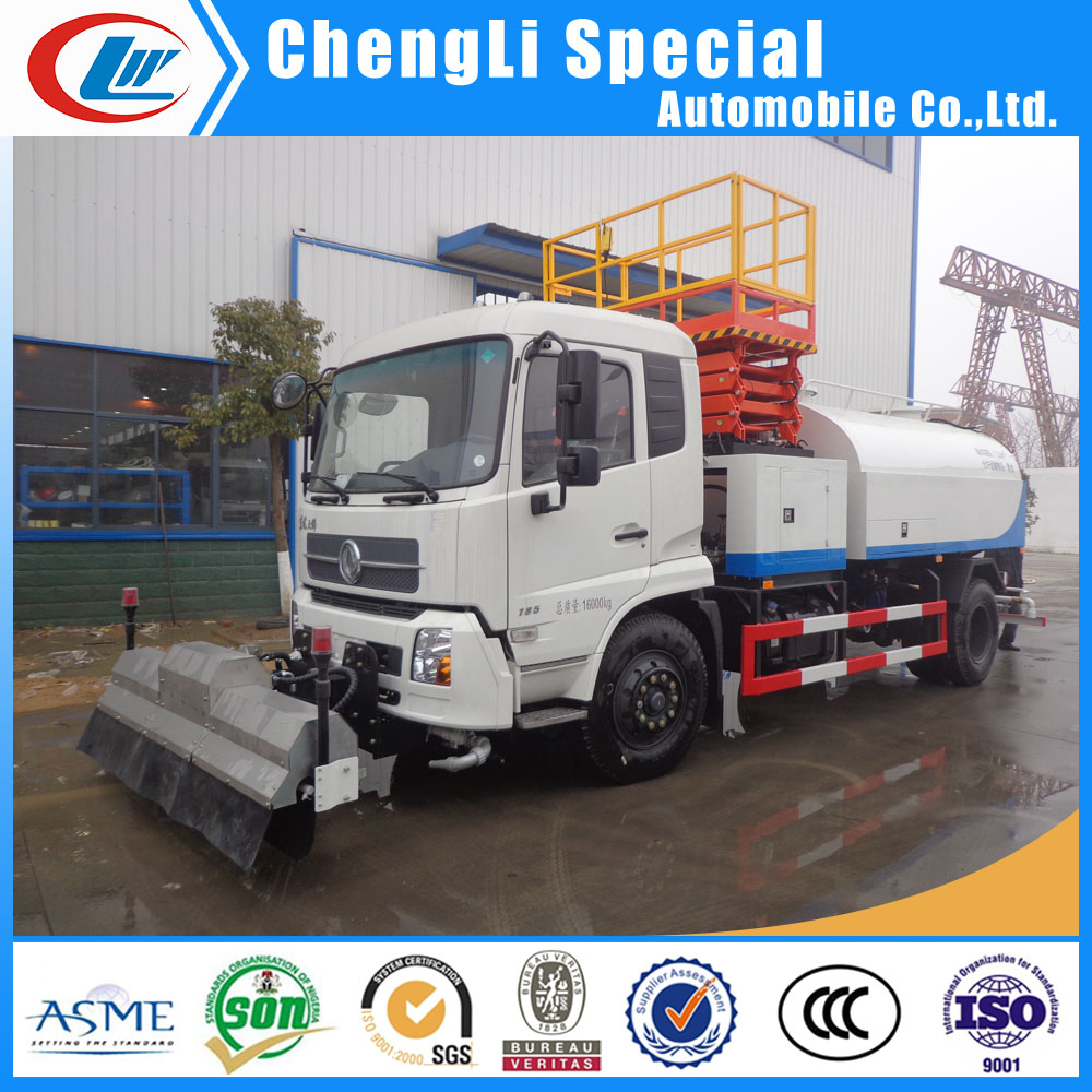 6ton 8t high pressure road washer truck 10m3 high-pressure sewer flushing vehicle