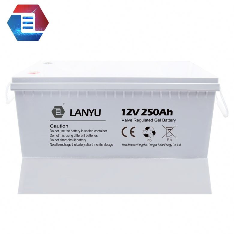 Best design excellent sealed 12v 150ah 250ah gel pack battery