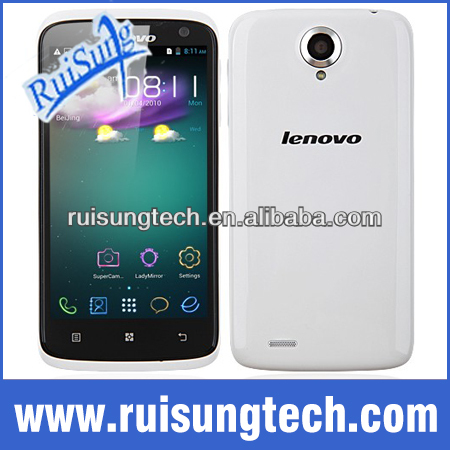 "Lenovo S820 MTK6589 Quad core 1G RAM+4G ROM Android 4.2 Mobile phone 4.7"" IPS HD Screen Multi Language"