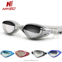 Wholesale best quality new design anti fog mirrored swimming goggles for adult unisex