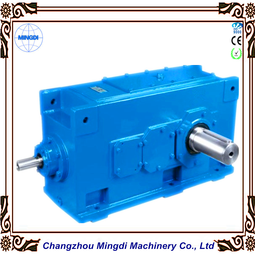 Cement Mixer Used H/B Series Helical-bevel Gear box Transmission Reducer With Electrical Motors
