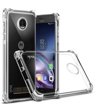 alibaba best sellers android phone transparent crystal clear phone case For Moto G6 PLUS